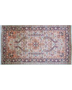 Regular Kashmir silk carpet 4'x6'